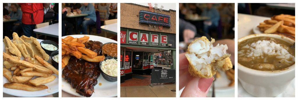 Blues City Cafe collage