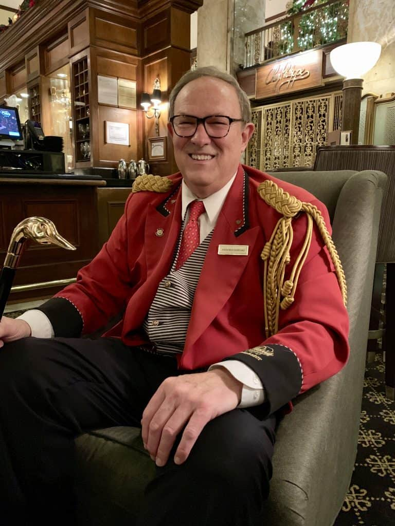 Peabody Hotel Duckmaster, Doug Weatherford