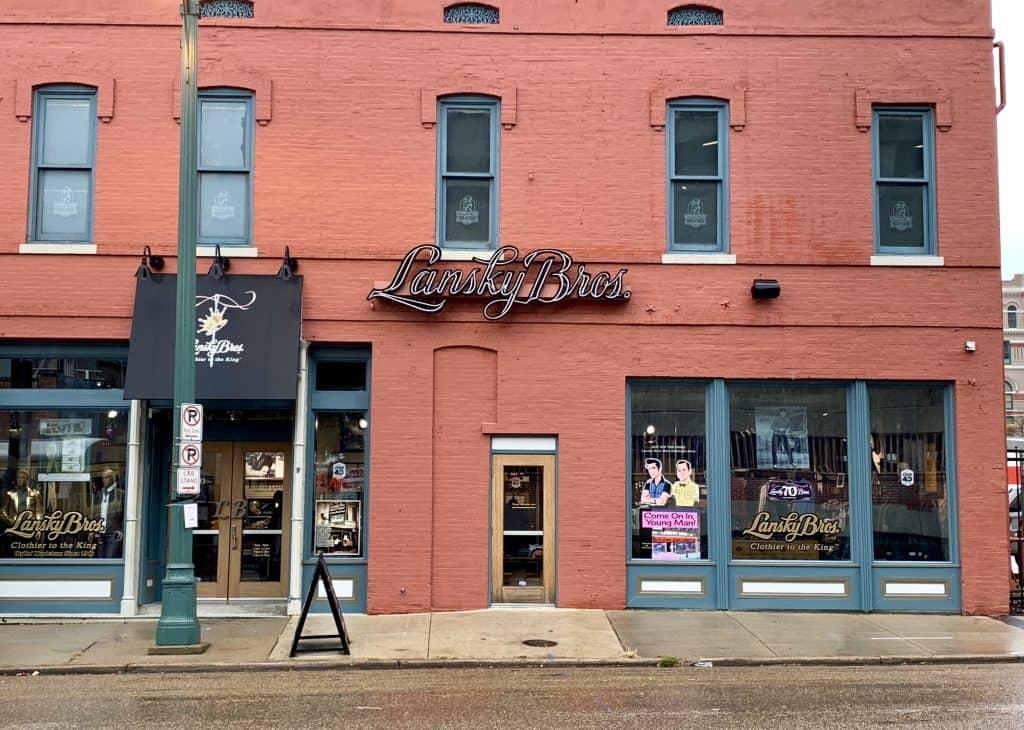 Lansky Bros. original store