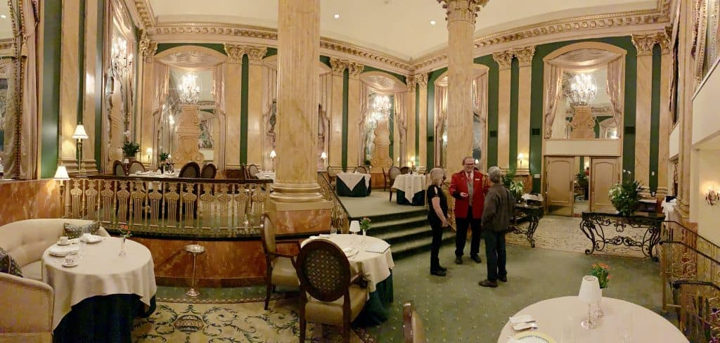 Chez Philippe at the Peabody