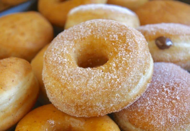 perfect vegan doughnuts