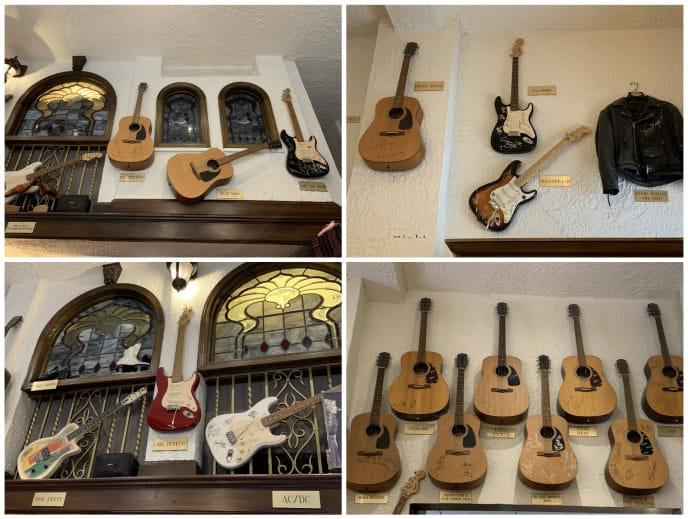 Lansky Bros guitars