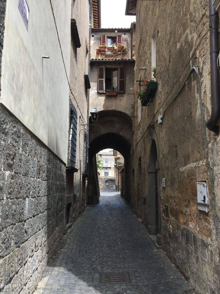 passageway in Orvieto