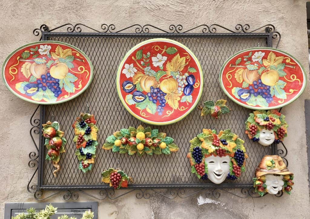 Ceramics in Orvieto, Italy