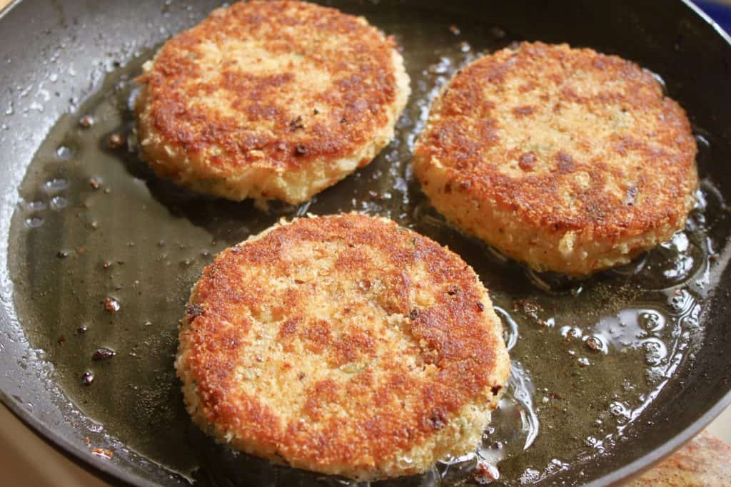 smoked haddock and potato cakes