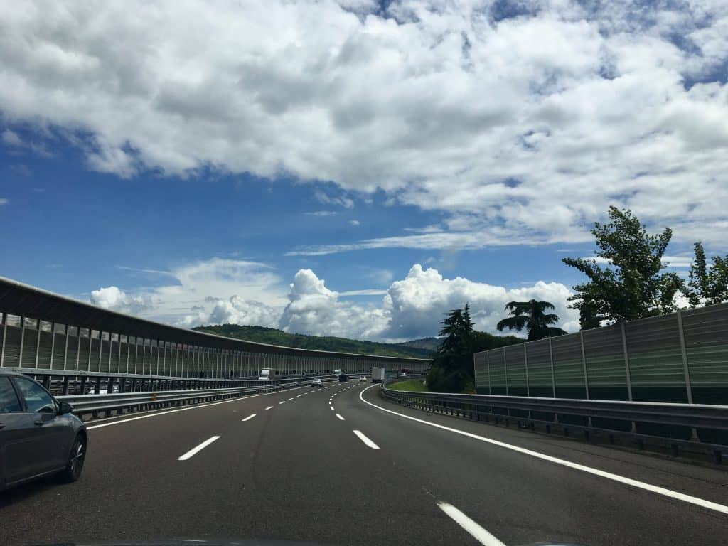 autostrada in Italy
