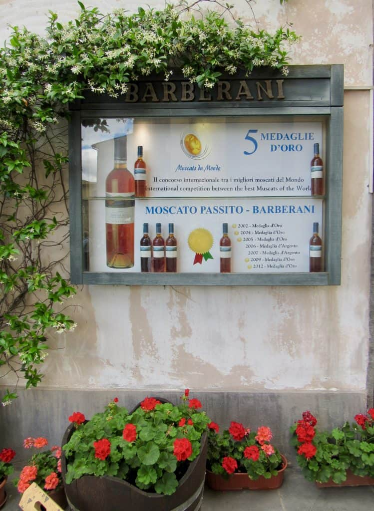 wine ad which is one of the reasons to visit Orvieto