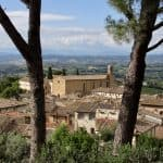 A Drive from San Gimignano to Siena