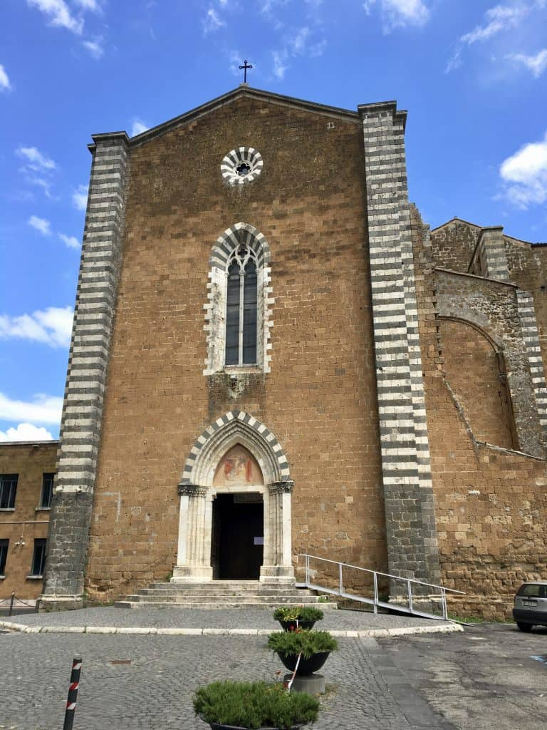San Domenico in Orvieto, Italy