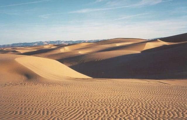 Sand dunes in Santa Maria Valley, Ca
