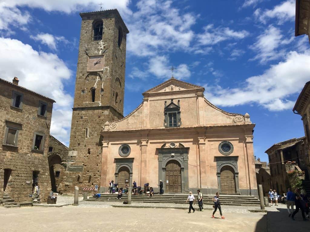 church in Civita di Bagnoregio