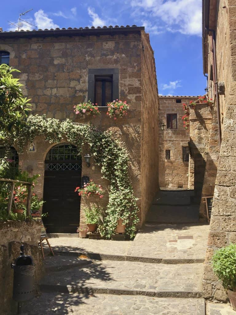 Builidings in Civita di Bagnoregio