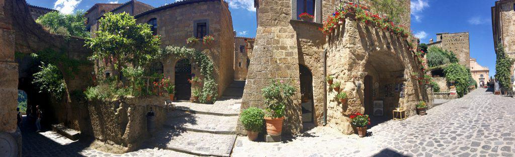 Panorama of Civita di Bagnoregio