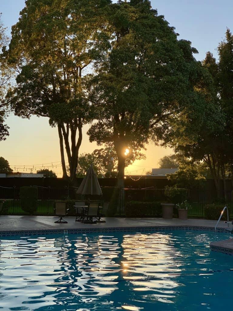 Santa Maria Inn pool