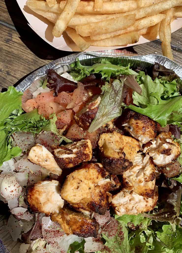 King Mediterrano salad Torrance