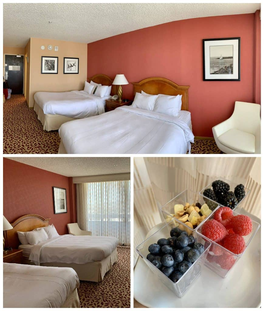 Torrance Marriott rooms