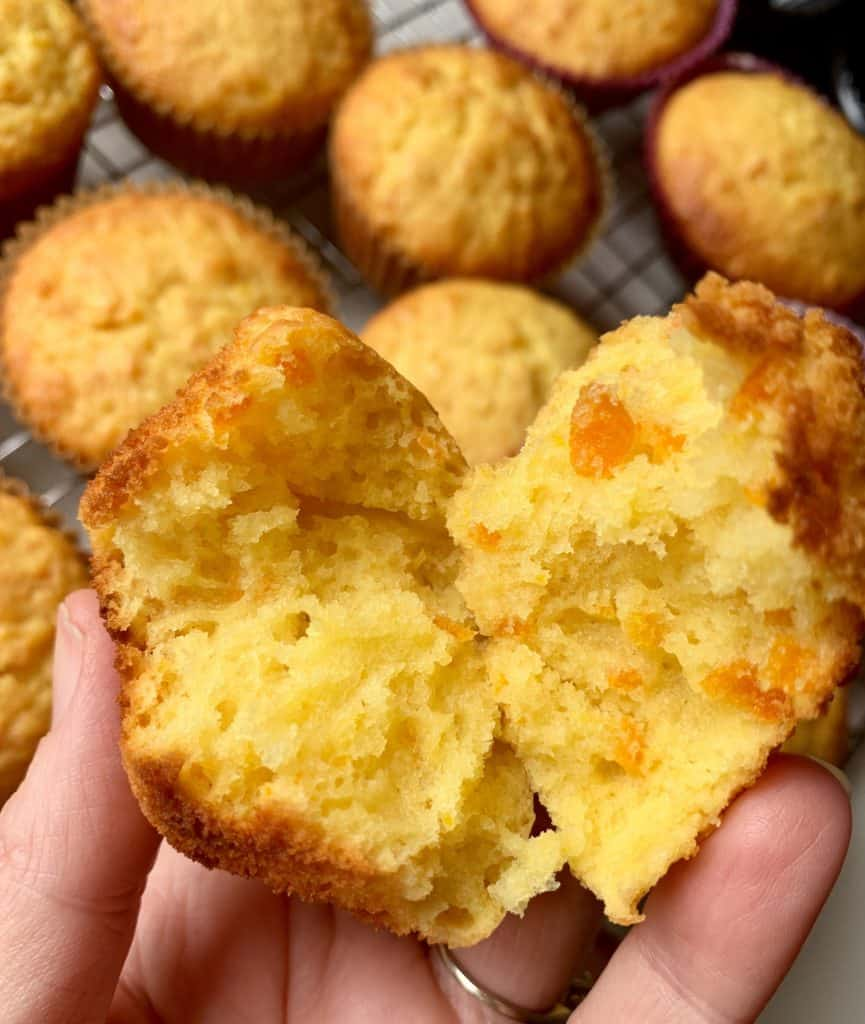 Tasting kumquat cupcake