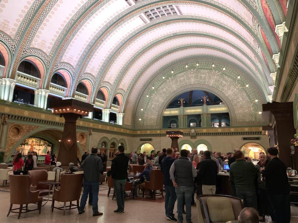 grand hall at the Union Station Hotel