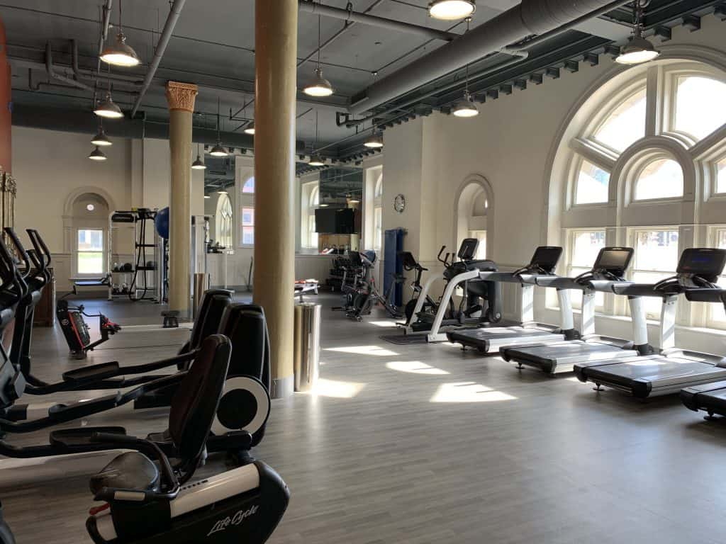 st louis union station hotel gym