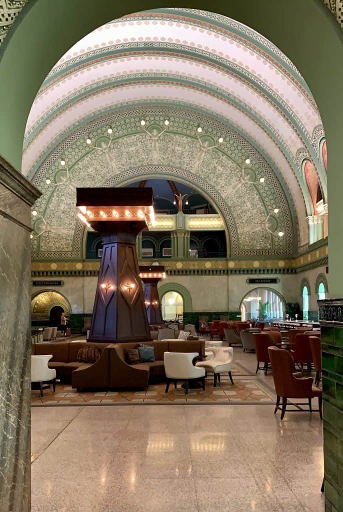 Grand hall in the st louis union station hotel