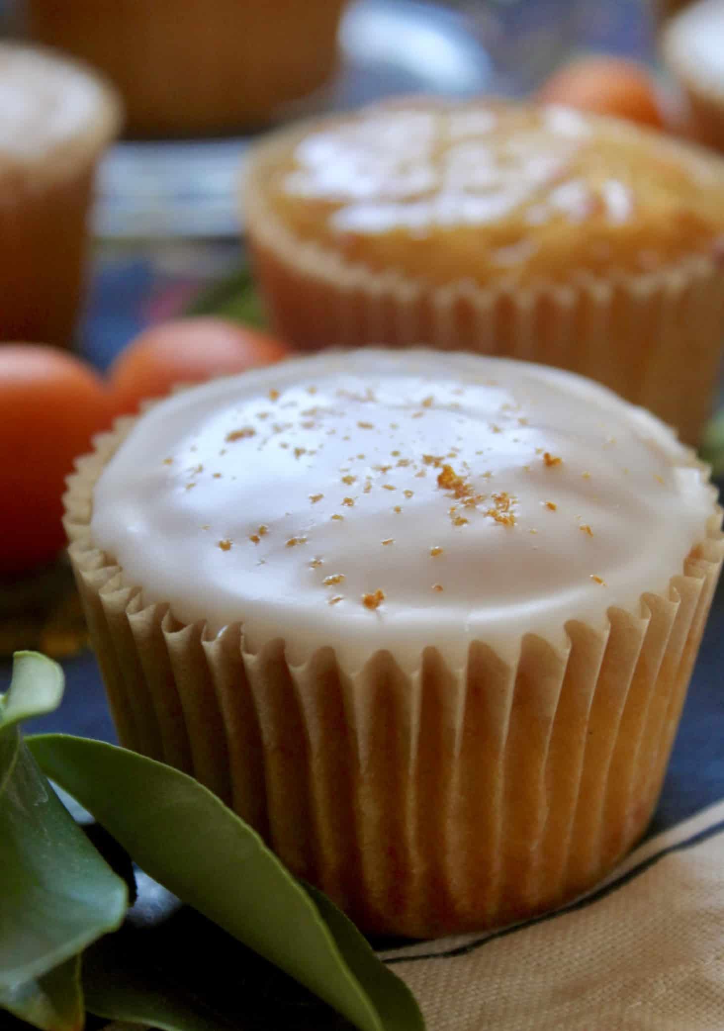 kumquat cupcakes