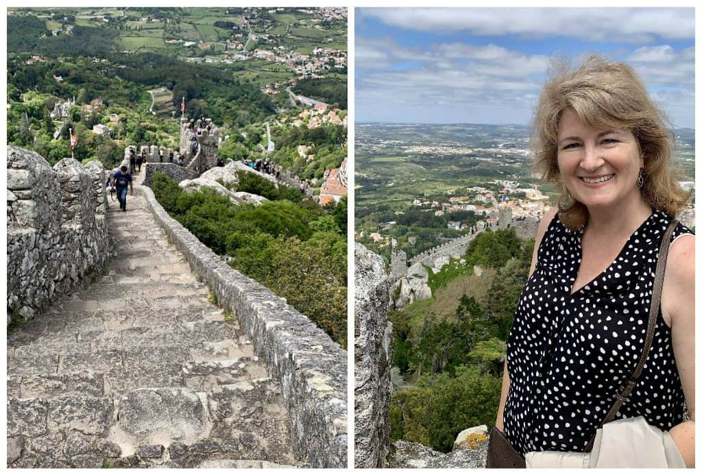 Christina at the Moorish Castle, SIntra