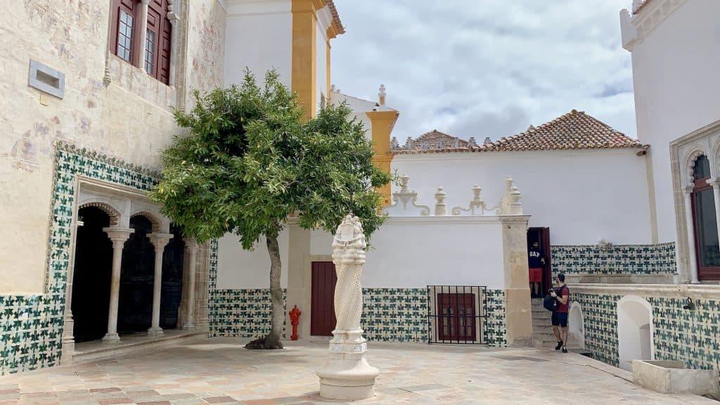 courtyard National Palace Sintra