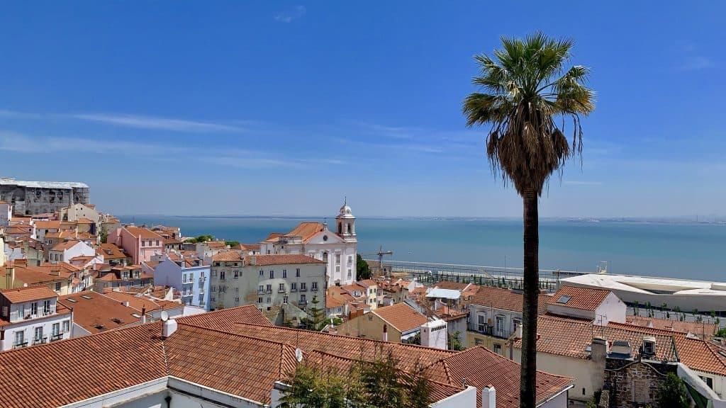view, Lisbon Portugal