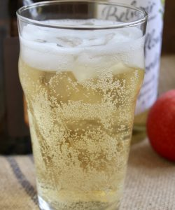 Elderflower cider