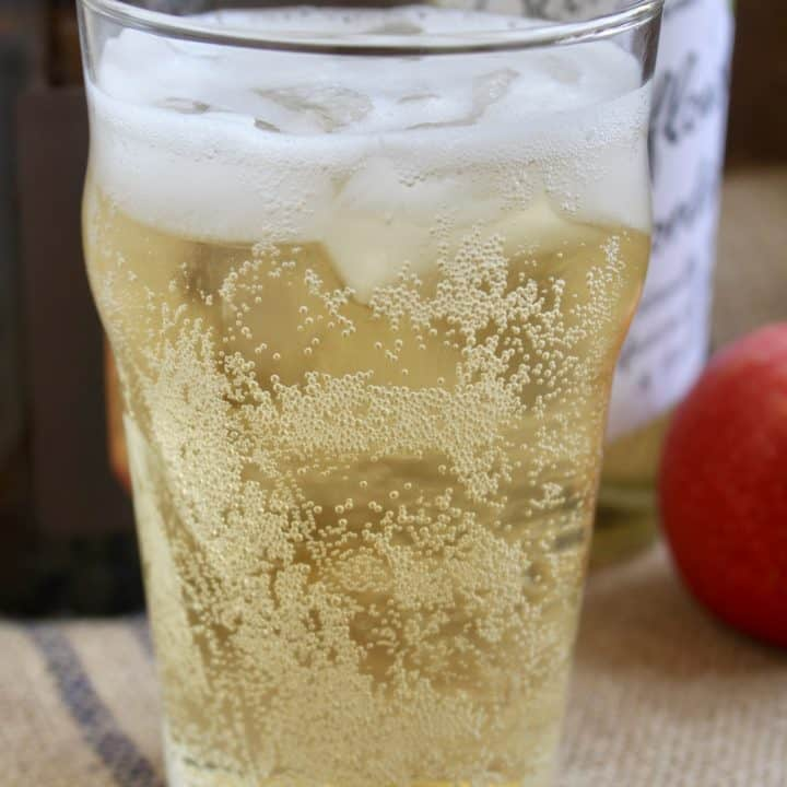 Elderflower cider