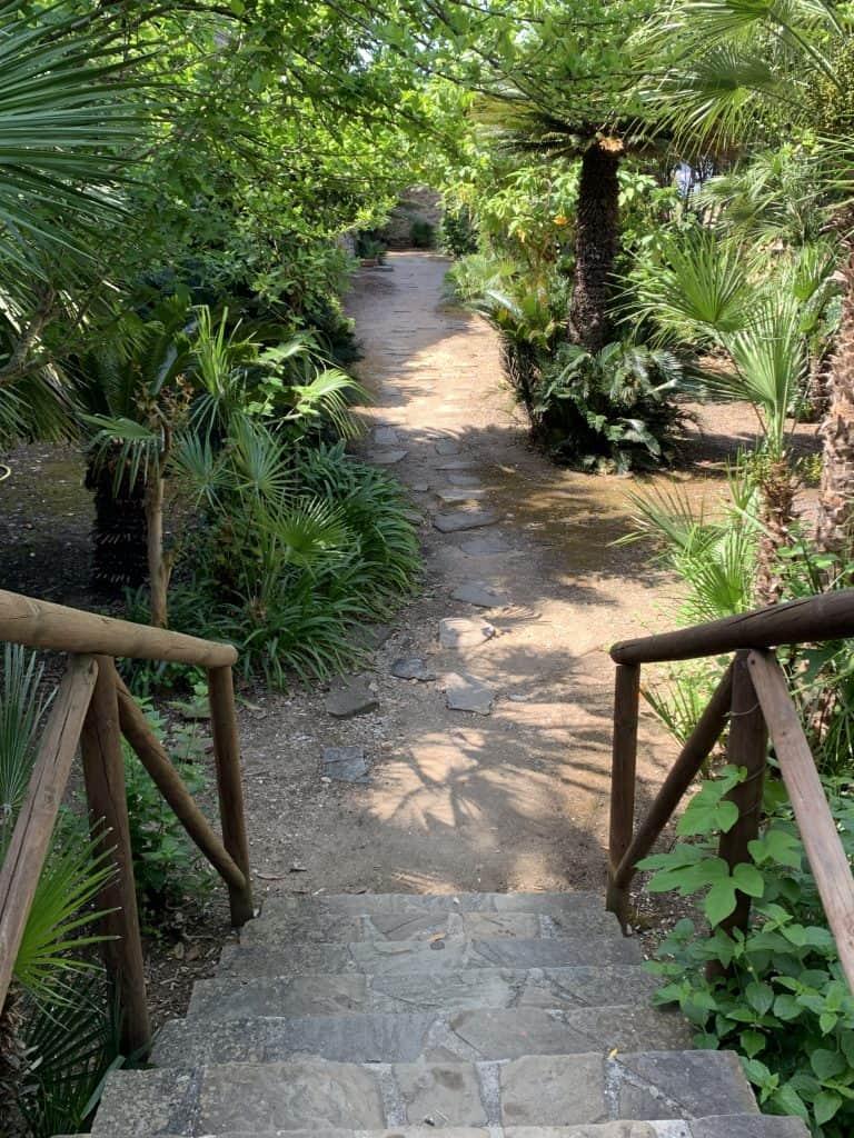private gardens Palazzo Belmonte