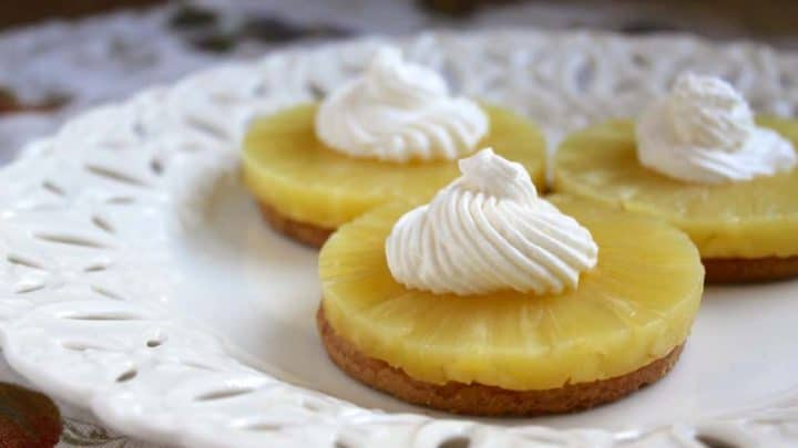 Aunt Virginia's Pineapple and Cream Digestives