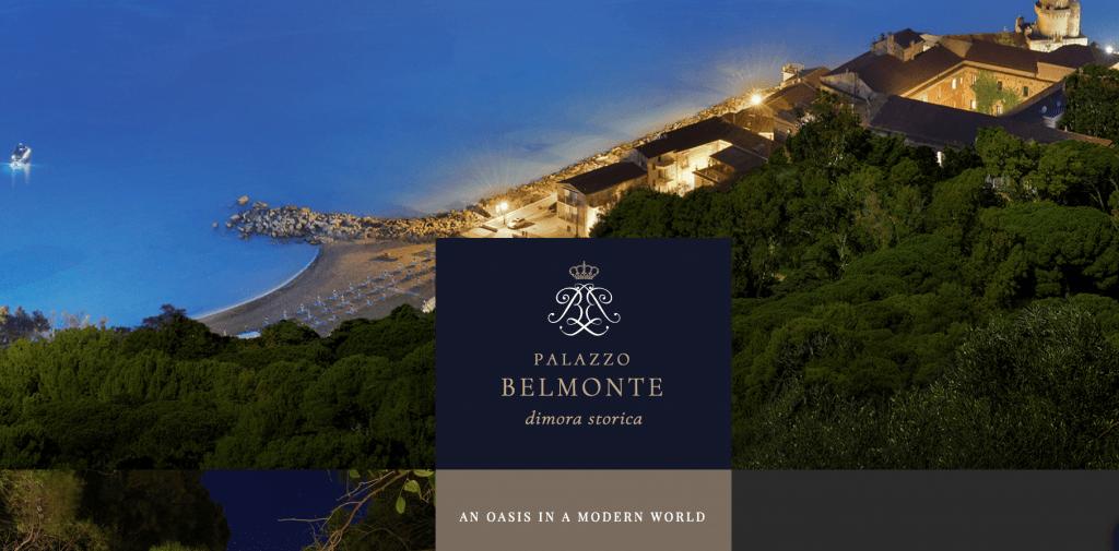 Palazzo Belmonte website