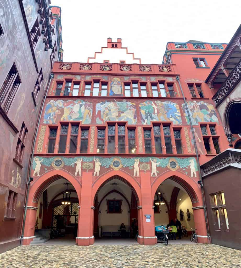 architecture in Basel