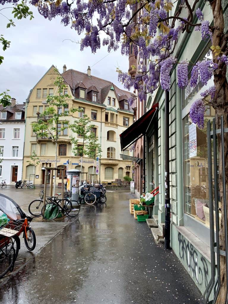 Rainy day in Basel