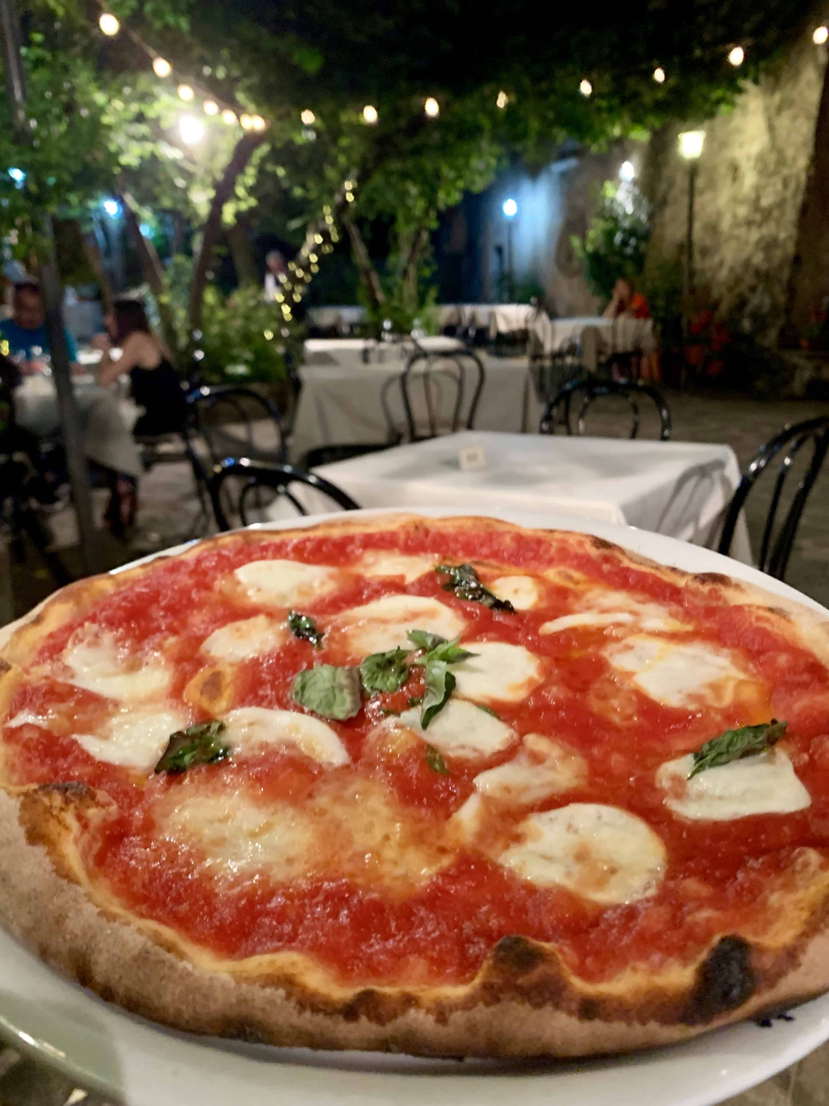 pizza al fresco
