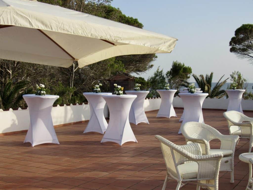 Punta Licosa Estate cocktail tables