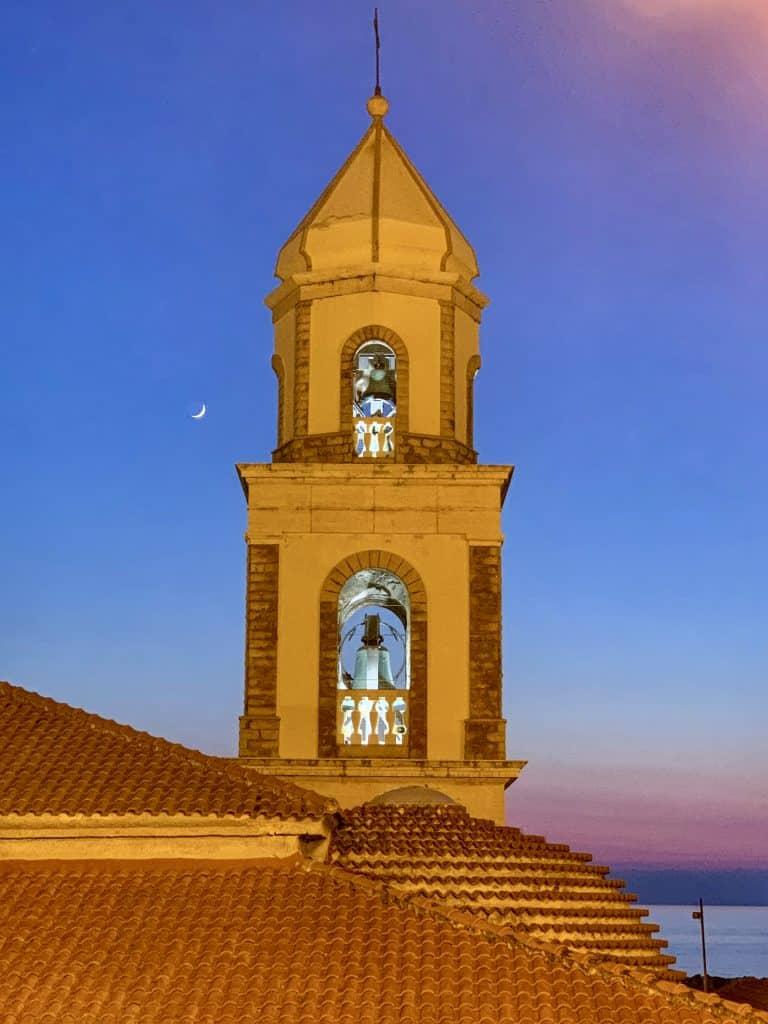 church tower santa maria castellabate