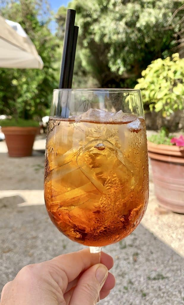 cocktail at Palazzo Belmonte