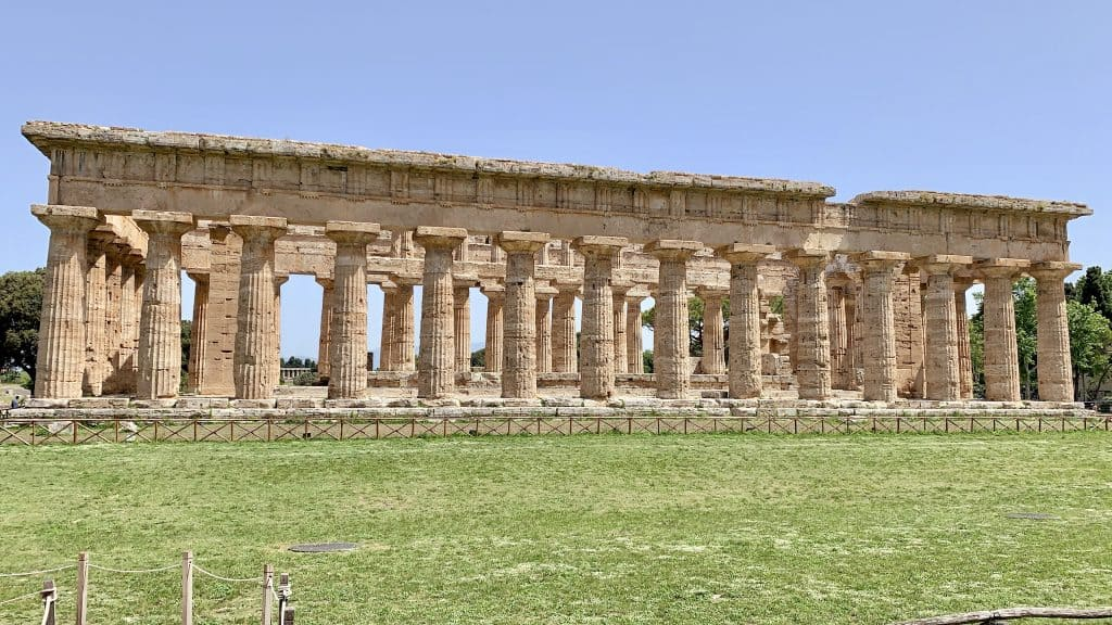 Greek temple of Hera