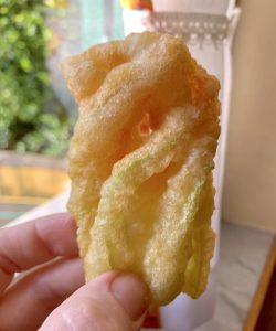 zucchini blossoms Italian style