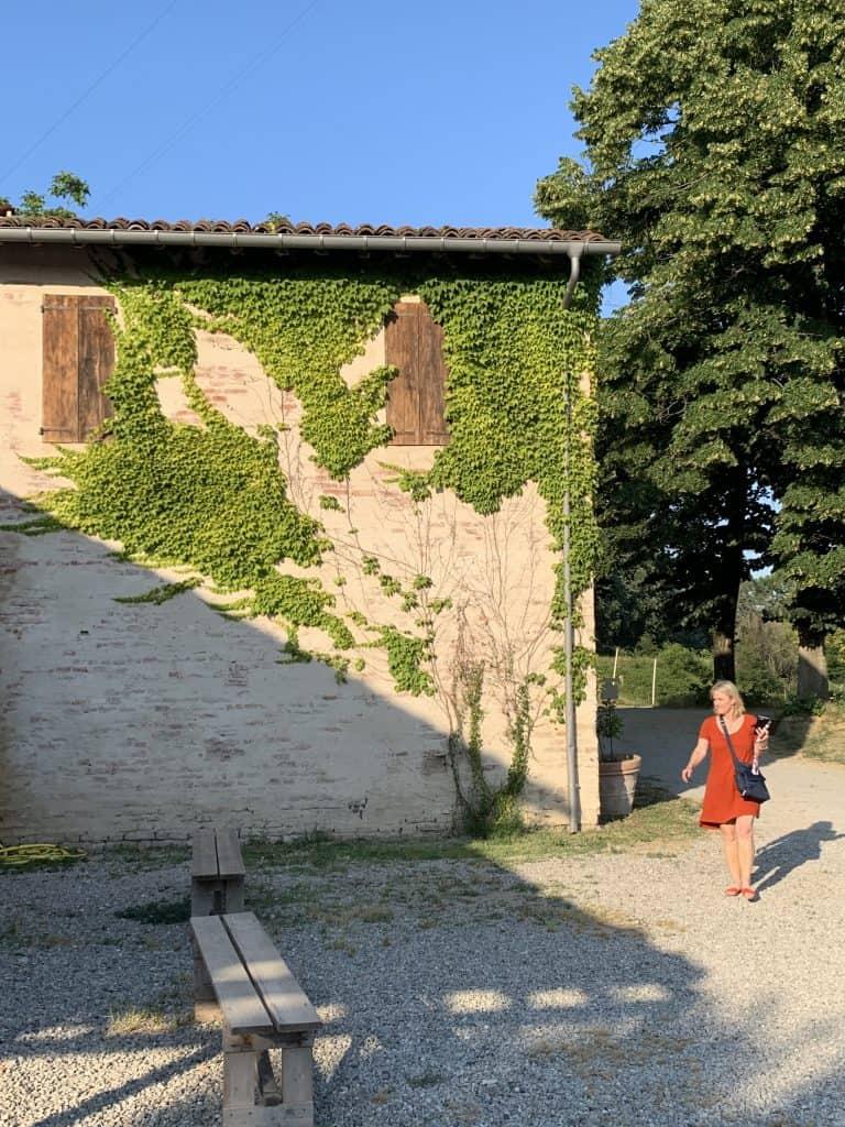 Cynthia at Antica Corte Pallavicina best relais in Emilia Romagna