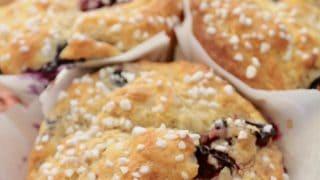 Best Muffin Recipe, EVER! Mixed Fruit Yogurt Muffins