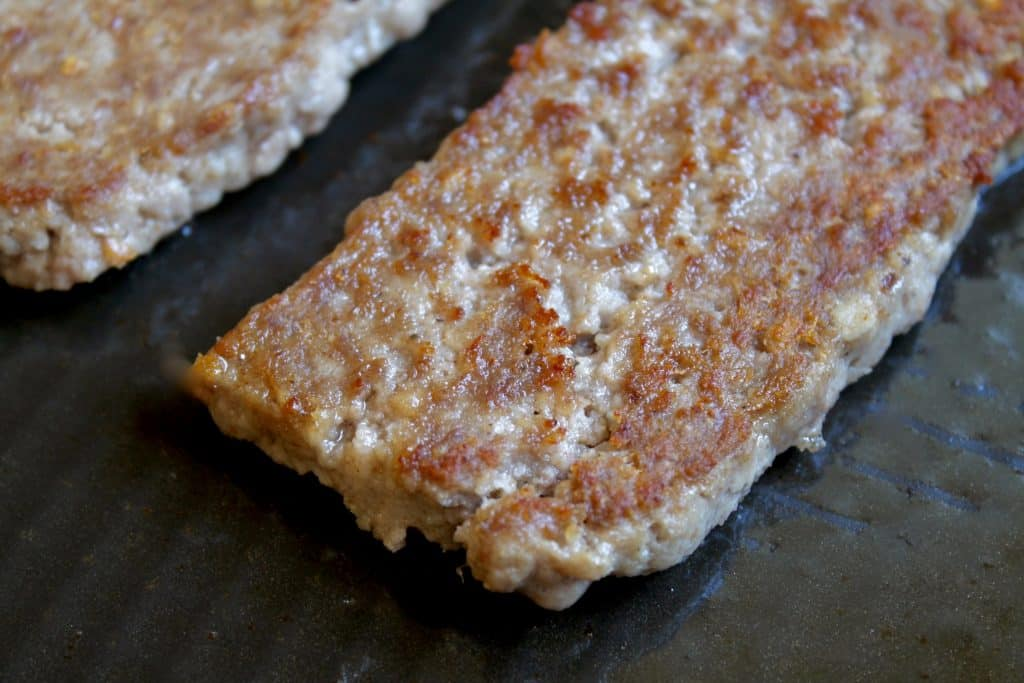 homemade Lorne sausage