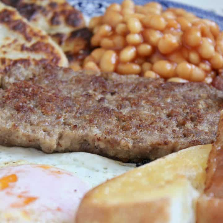 homemade Lorne sausage or square sausage