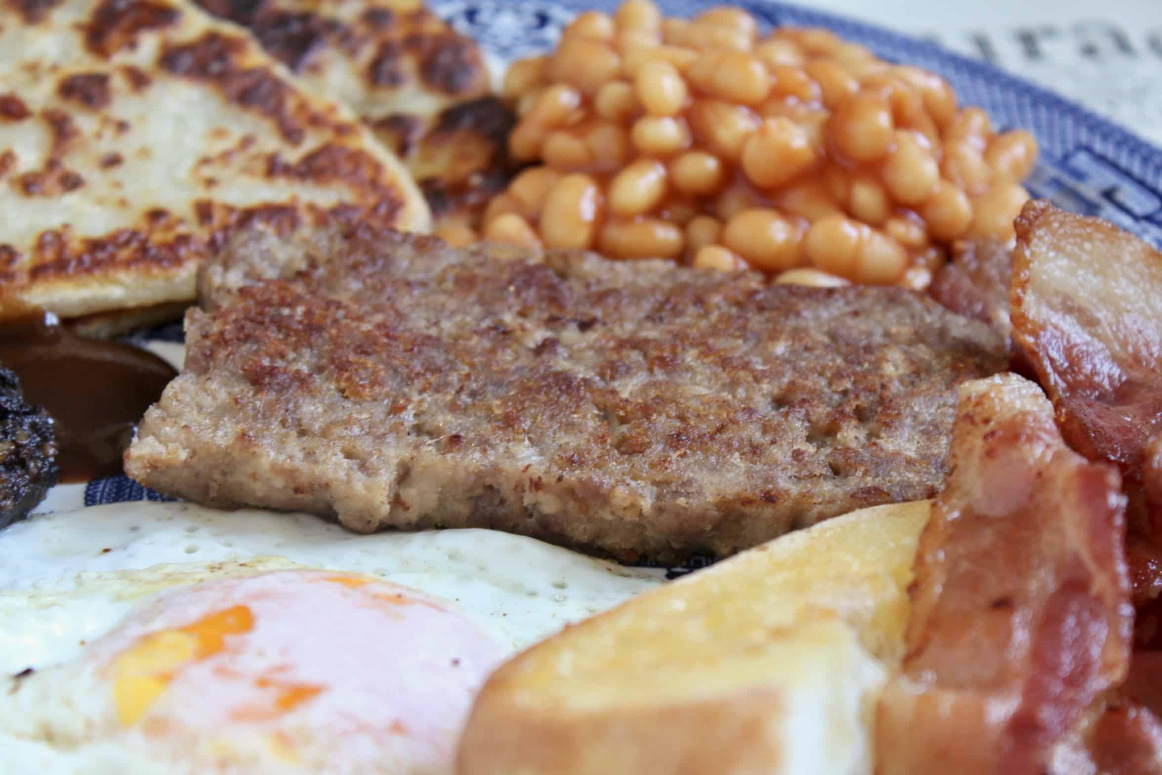 homemade Lorne sausage or square sausage