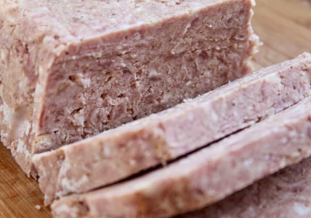 slices of Lorne Sausage
