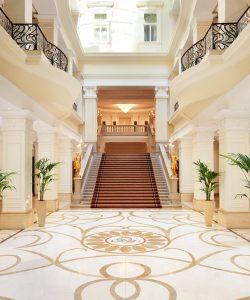 Corinthia Budapest Hotel lobby
