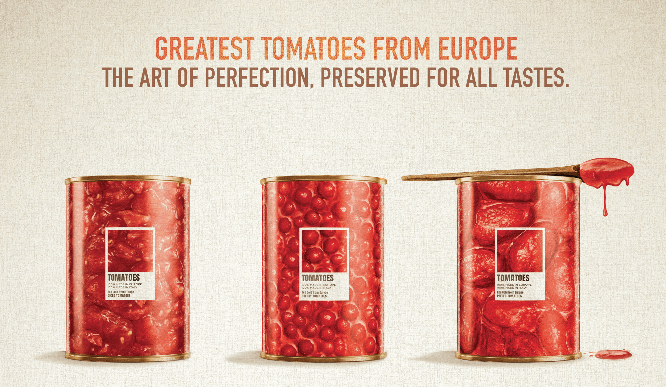 greatest tomatoes from Europe poster