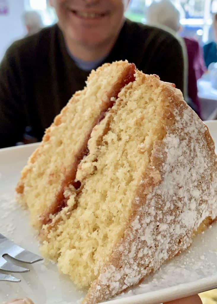Victoria Sandwich British Sponge cake